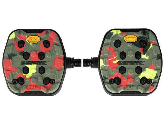 Look Trail Grip Pedals, camo